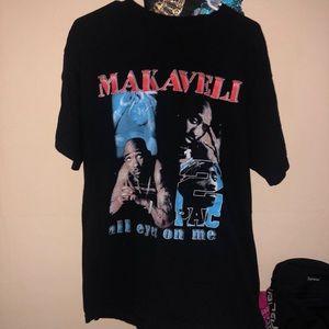 Vintage 2pac mackaveli tshirt
